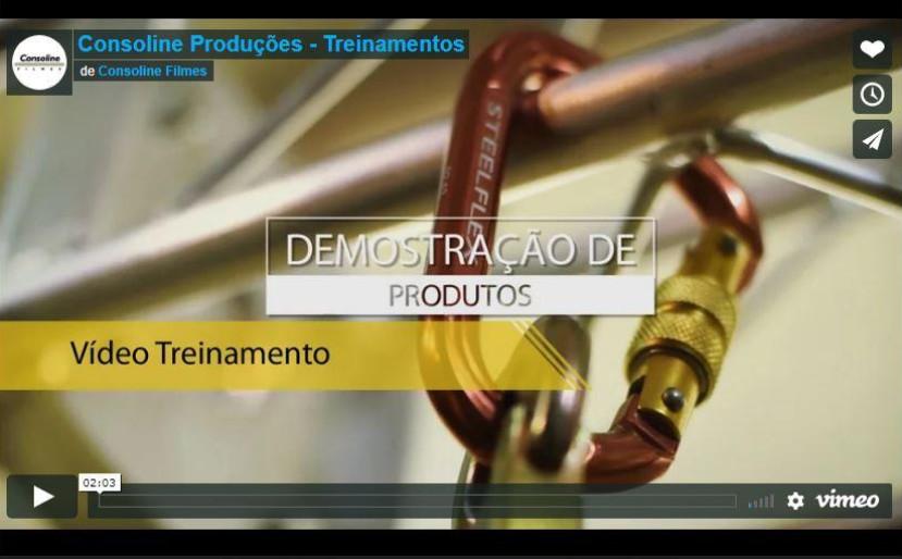 Consoline Produções - Apresentação (Treinamentos)