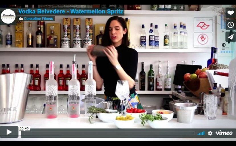 Vodka Belvedere - Watermellon Spritz