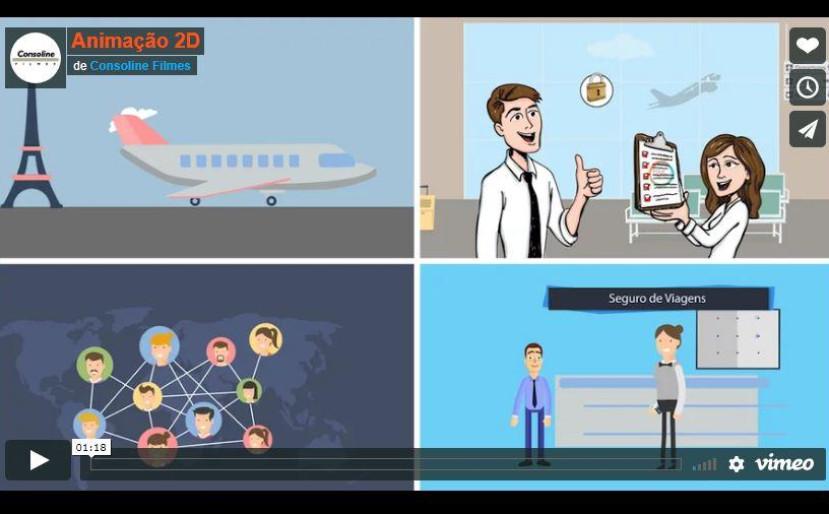 Four Stations - Animação 2D