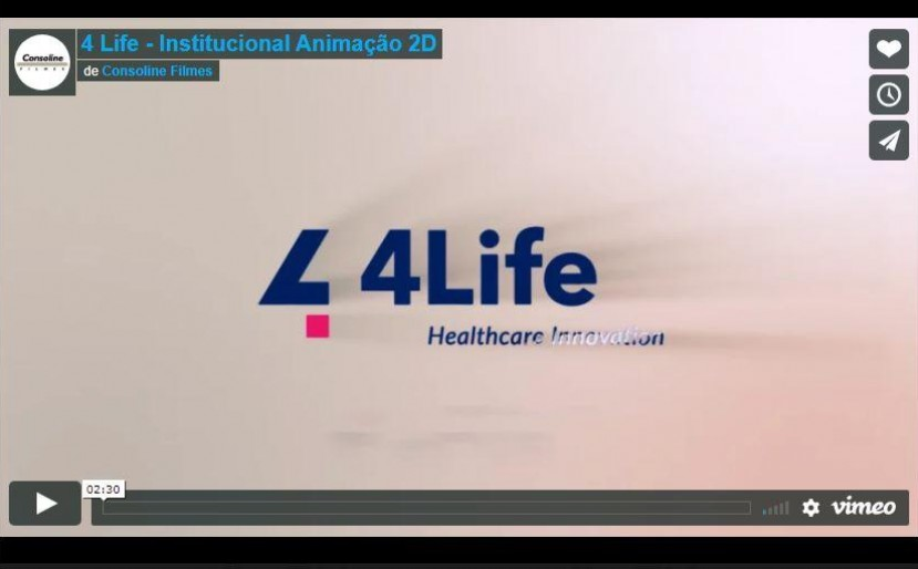 4 Life - Institucional 2D