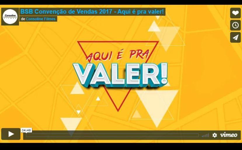 BSB Convenção de Vendas BSB 2017 - Aqui é pra Valer!
