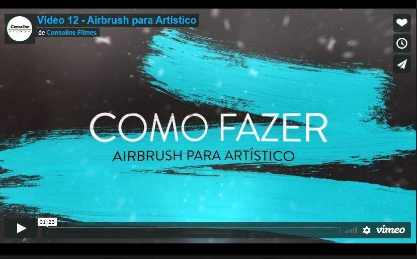 Catherine Hill - Vídeo 12 Airbrush para Artístico